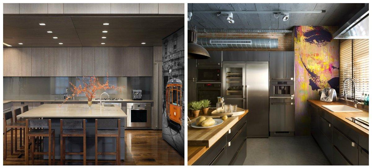 kitchen renovation ideas, hi-tech style, loft style in kitchen renovation ideas