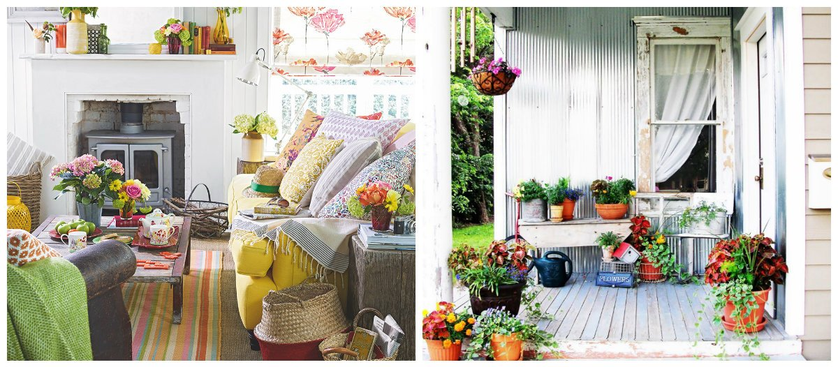 modern country decor, stylish decor ideas in country style