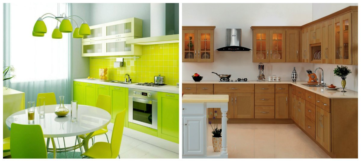 modern kitchen design 2019, particleboard, mdf materials in kitchen design