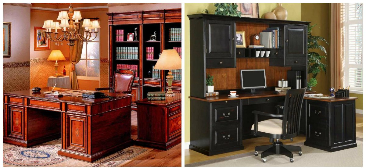 office design ideas, classic style office interior design