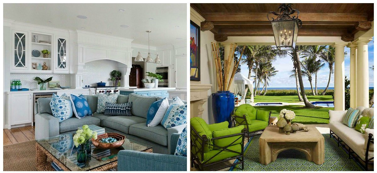 tropical living room, coastal style in tropical living room design