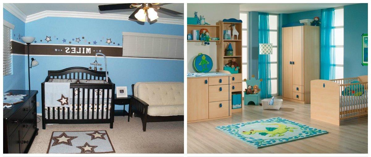 baby boy room ideas, carpet in baby boy room interior design