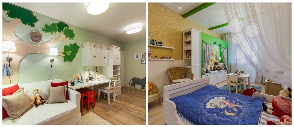 baby boy room ideas, trendy colors in baby boy room interior design