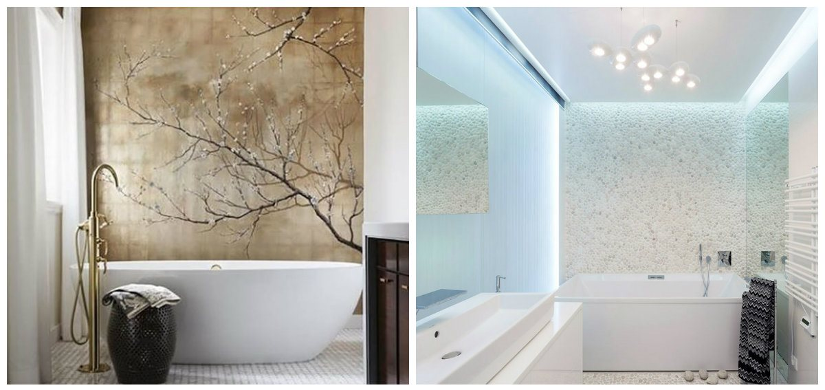 bathroom design ideas 2019, finishing materilas for bathroom design 2019