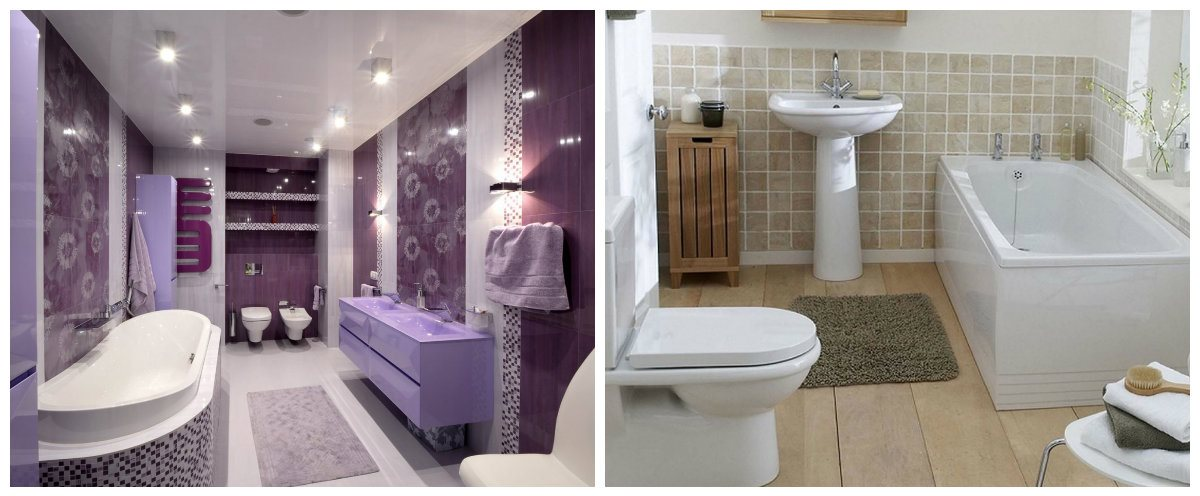bathroom design ideas 2019, trendy materials in bathroom design ideas 2019