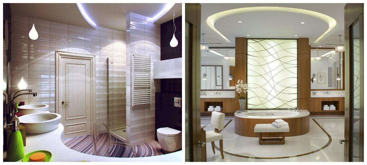bathroom renovations 2019, ceiling design in bathroom renovations 2019