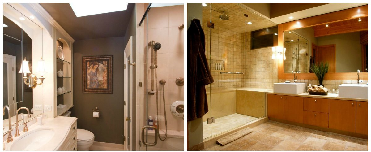 bathroom renovations 2019, lighting ideas in bathroom renovations 2019