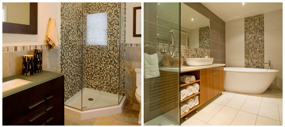 bathroom renovations 2019, wall design in bathroom renovations 2019