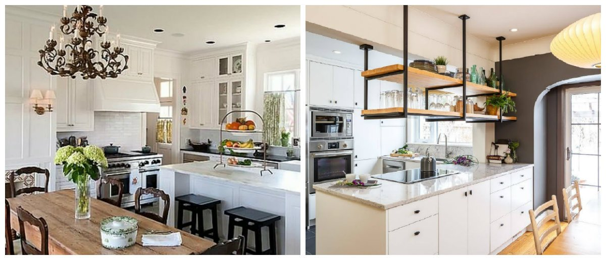 best kitchen designs 2019, top fashionable styles for kitchen design 2019