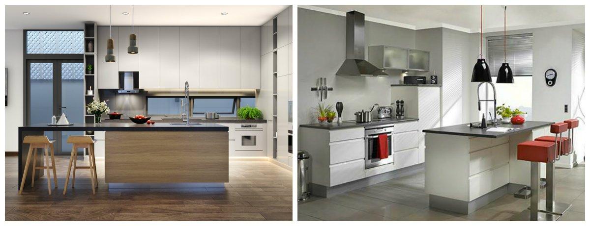 best kitchen designs 2019, trendy minimalism style kitchen design