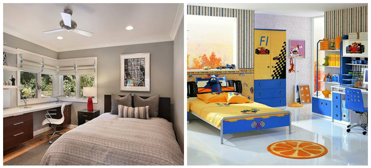 boys bedroom ideas, modern style in boys bedroom design ideas