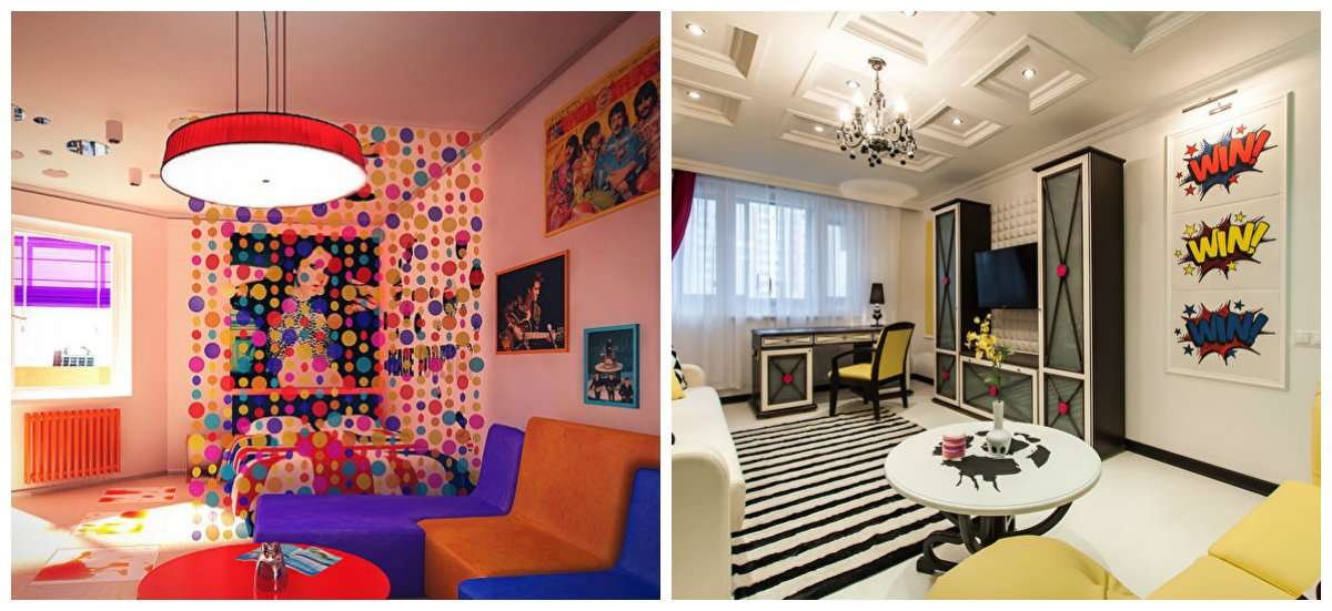 boys bedroom ideas, pop art style in boys bedroom design ideas