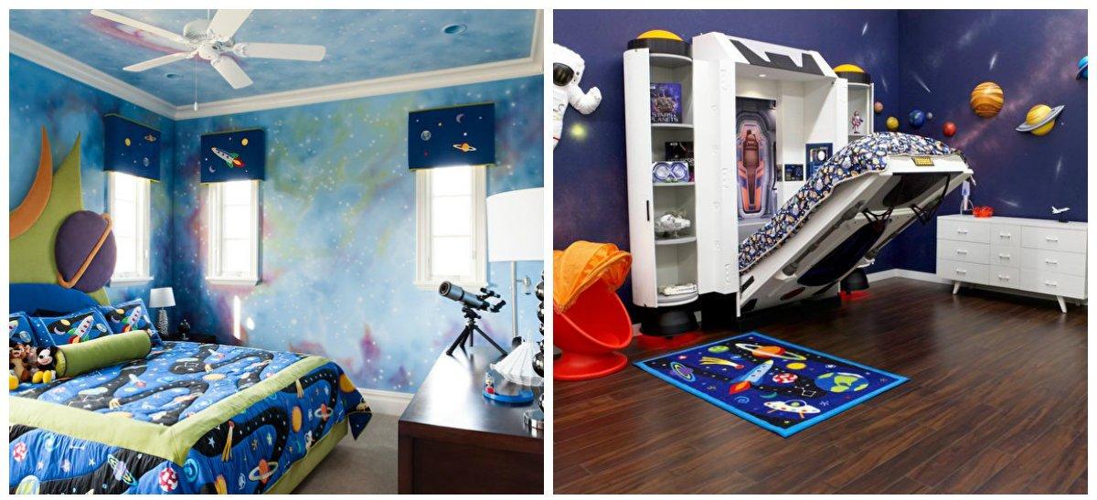 boys bedroom ideas, space style in boys bedroom design ideas