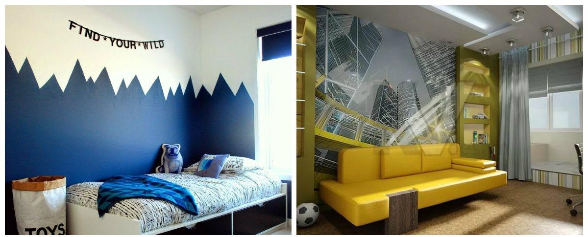 Boys Bedroom Wallpaper: Top Styles Of Wallpaper For Boys