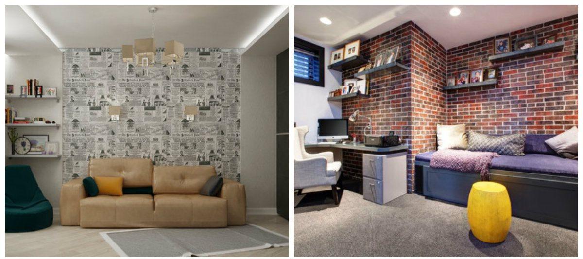 boys bedroom wallpaper, vynil wallpaper in boys bedroom design