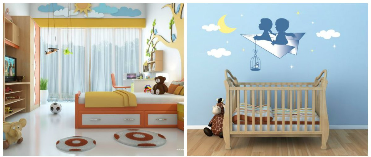children room design, colors in children room interior design