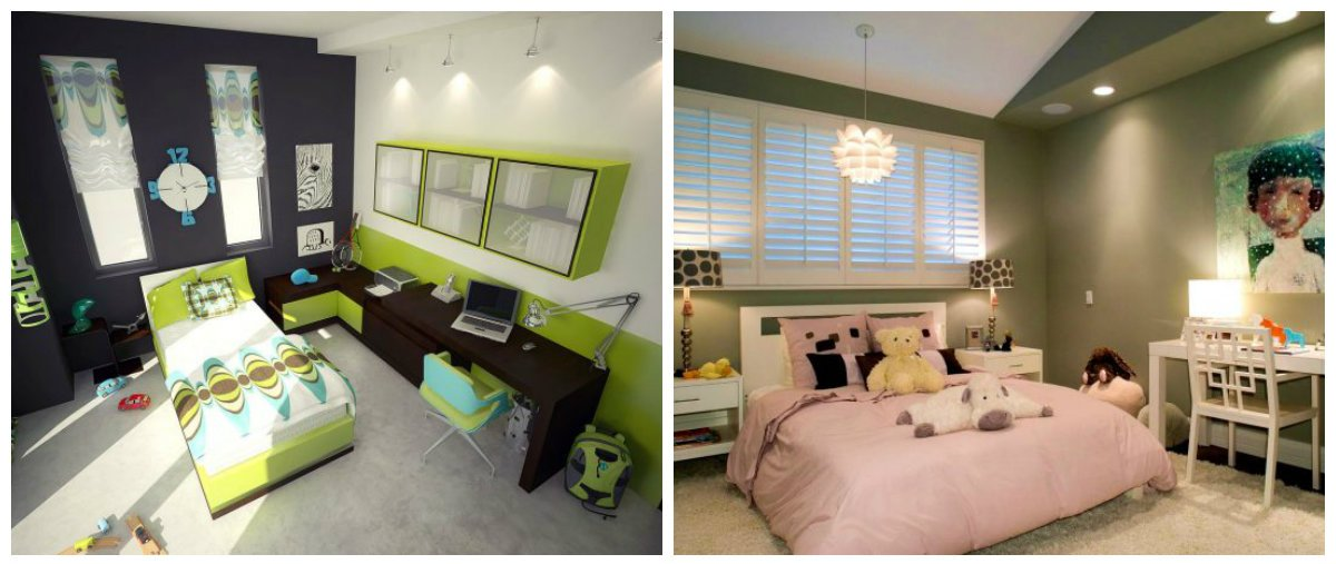 children room design, lighting ideas in children room design