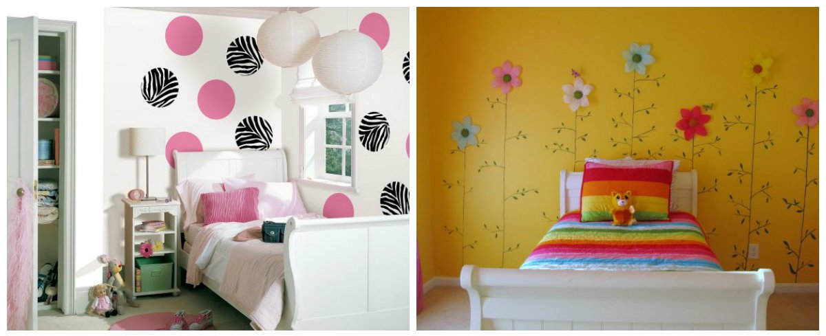 children room design, trendy colors in children room design