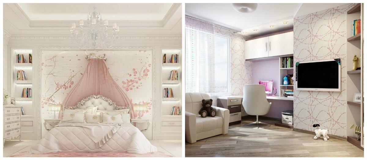 girls bedroom ideas, classic style bedroom, modern style bedroom