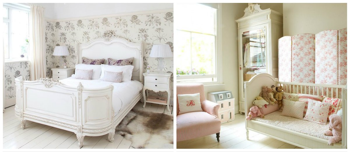 girls bedroom ideas, French style Province girls bedroom ideas