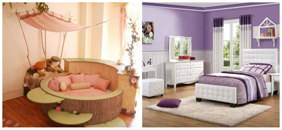 girls bedroom ideas, trendy shades in girls bedroom design ideas