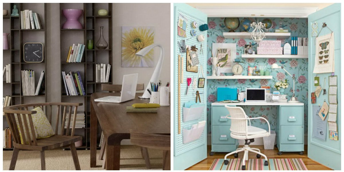 home office design, stylish accessories in home office design