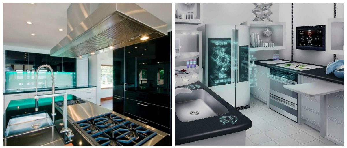 kitchen cabinet ideas 2019, high tech kitchen cabinets 2019