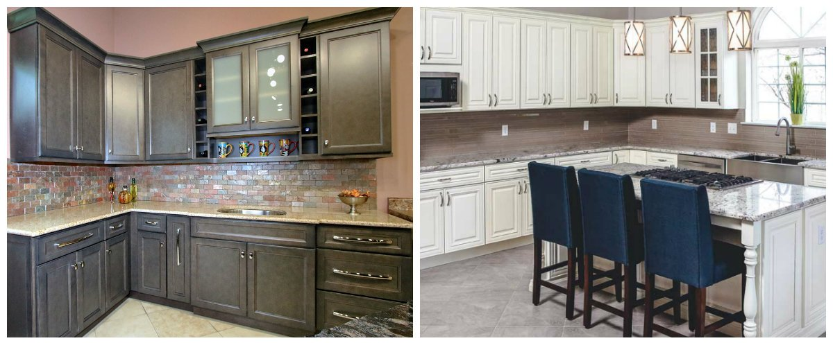 kitchen cabinet ideas 2019, top styles and colors for kitchen cabinets 2019