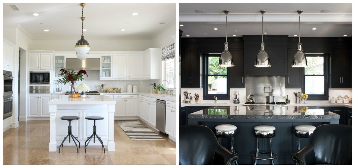 kitchen cabinet ideas 2019, black kitchen cabinet, white kitchen cabinet