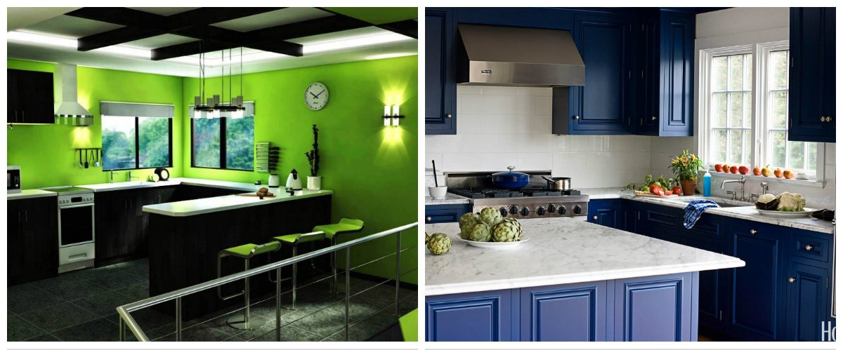 kitchen color trends 2019, top colors for kitchen interior design 2019