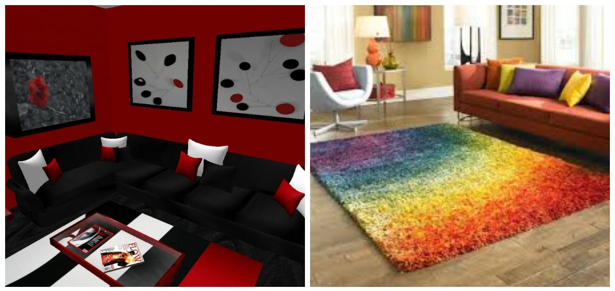 living room decor ideas 2019, stylish carpets in living room decor ideas 2019