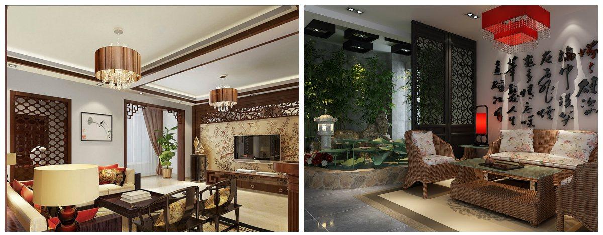 living room design 2019, oriental style living room design 2019