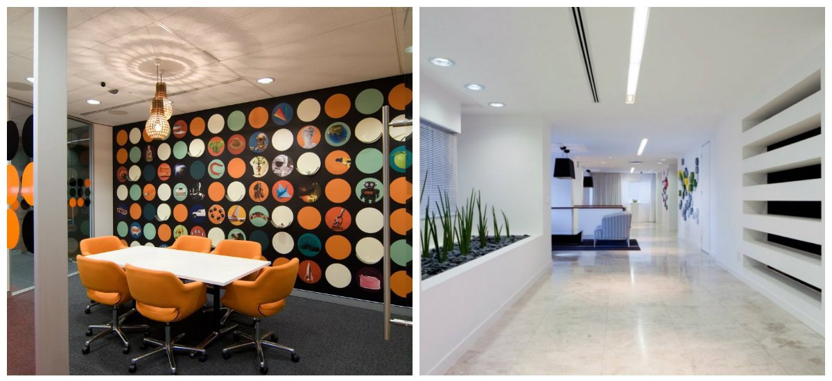 modern office decor, wall decor in modern office design