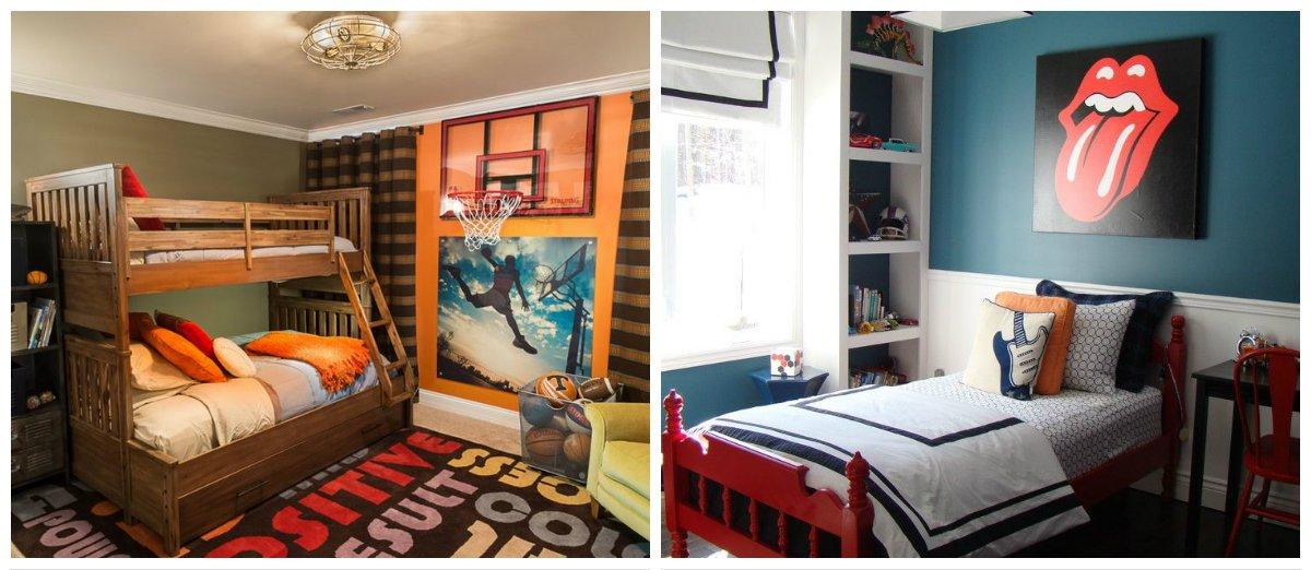 teen boy bedroom ideas, lighting ideas in teen boy bedroom design