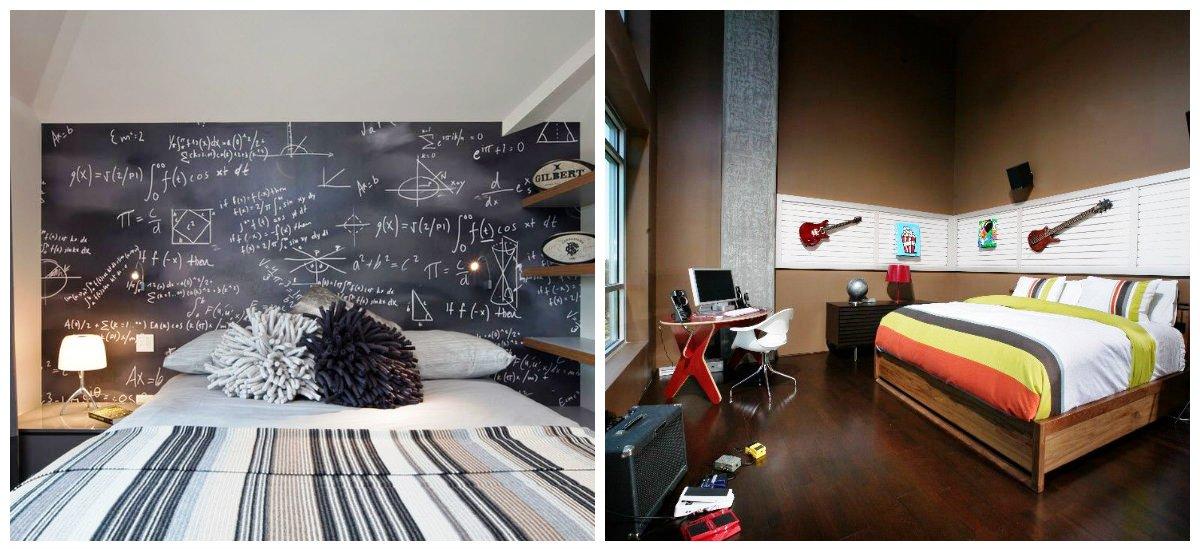 teen boy bedroom ideas, thematic design in teen boy bedroom ideas