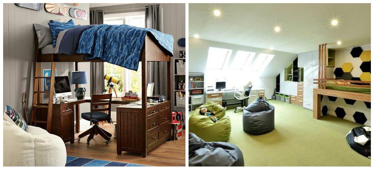 teen boy bedroom ideas, trendy styles in teen boy bedroom design