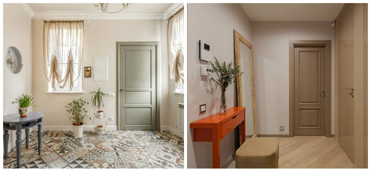 hallway ideas 2019, stylish beige hallway design ideas 2019