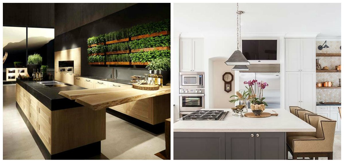 latest kitchen designs 2019, top 12 ideas for kitchen design 2019