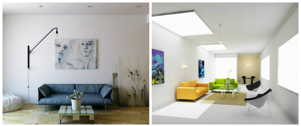 small hall interior design ideas, minimalist style in small hall design