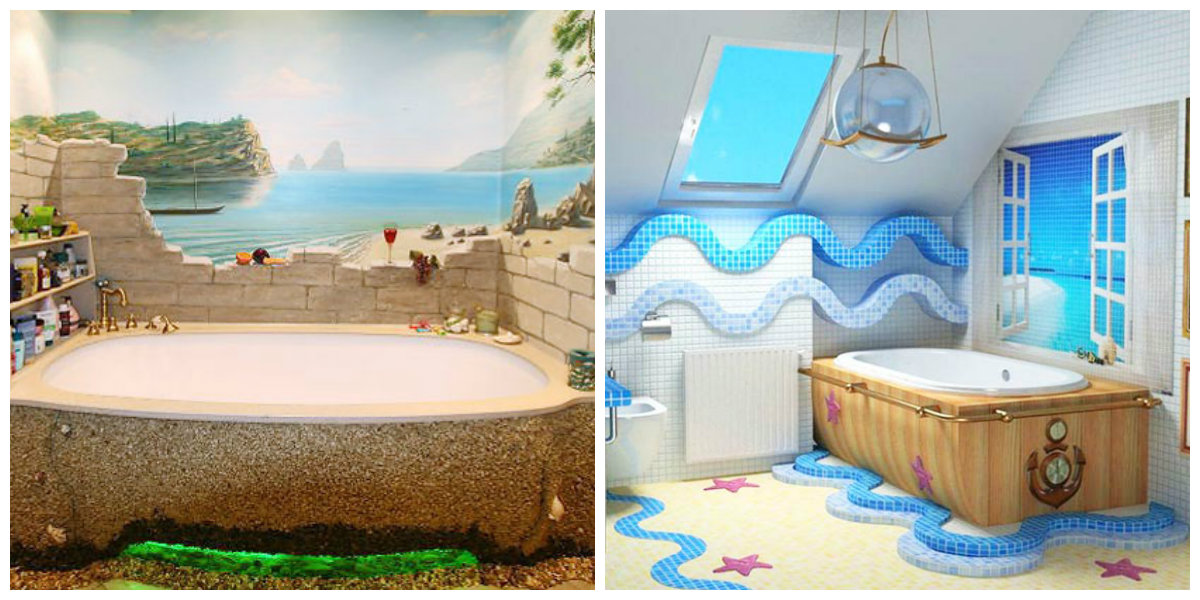 beach themed bathroom, top trends and ideas for beach bathroom
