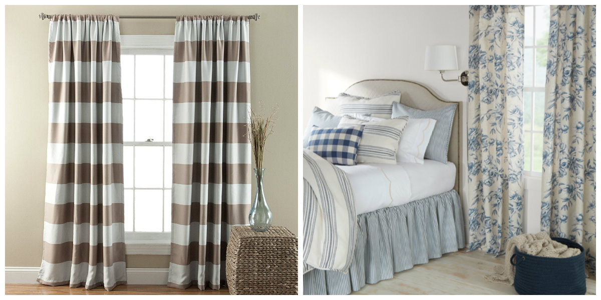 farmhouse curtains, what style of curtains will suit your farmhouse