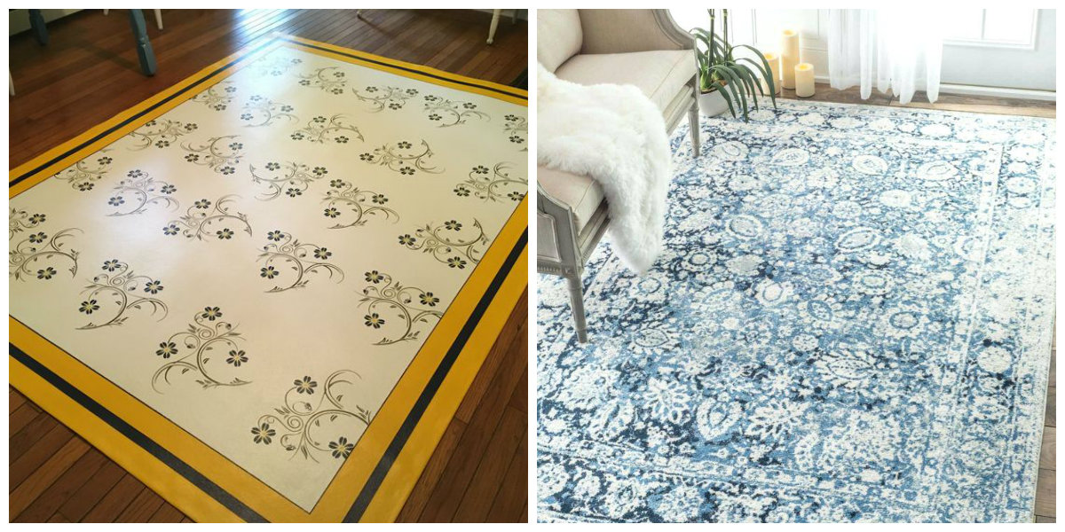 farmhouse decor 2019, stylish carpets in farmhouse decor 2019