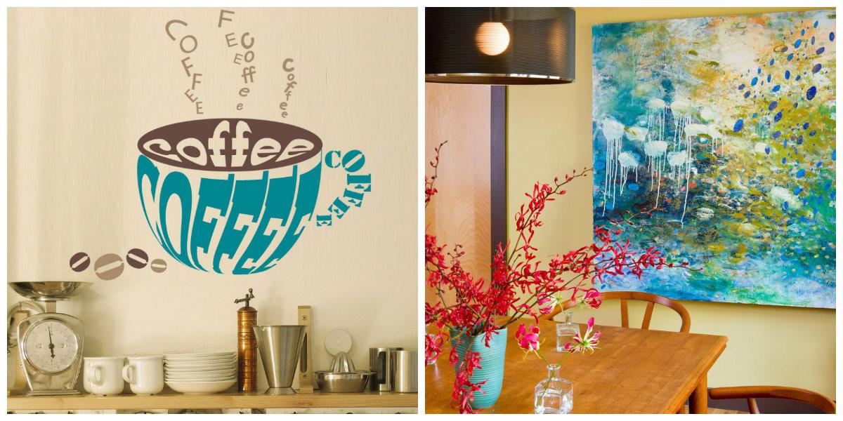 farmhouse kitchen decor, handmade bold DIY ideas for kitchen decor