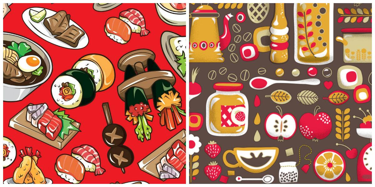 farmhouse kitchen decor, kitchen wallpaper ideas