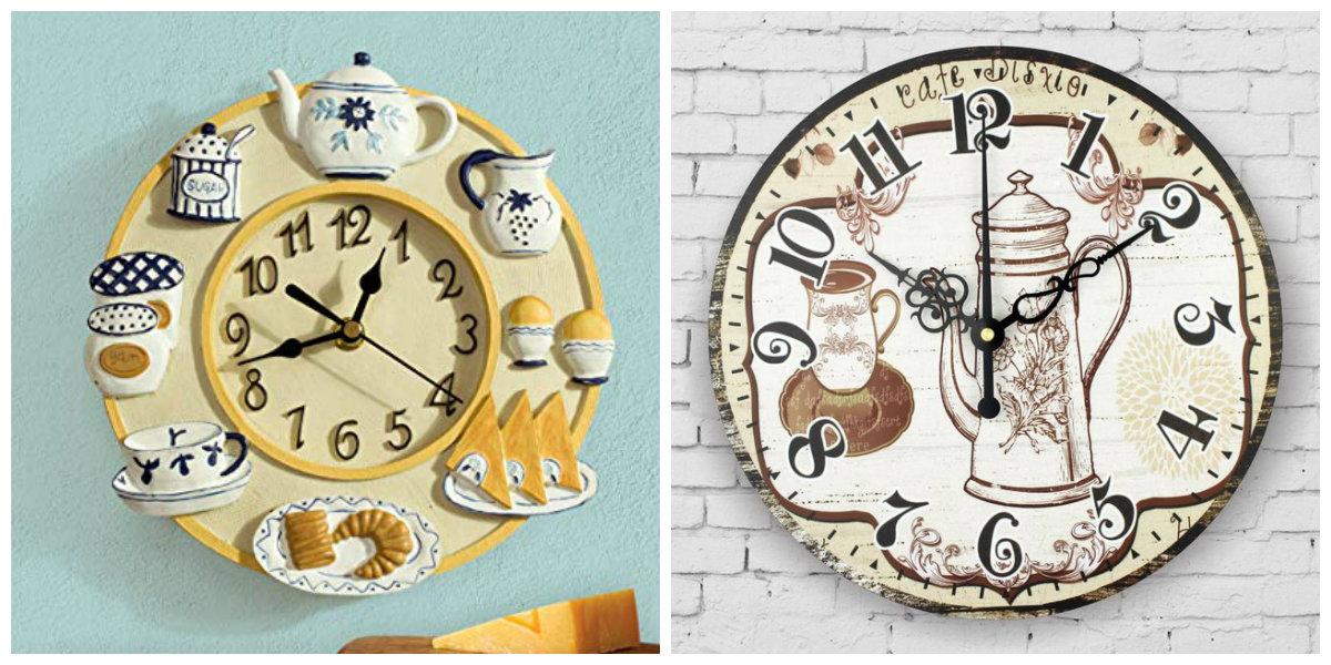 farmhouse kitchen decor, kitchen watch handmade