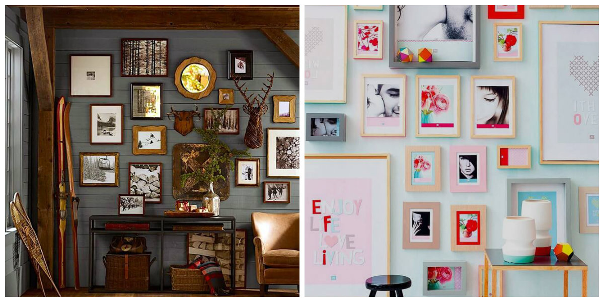 farmhouse wall decor, wall photo gallery wall decoration