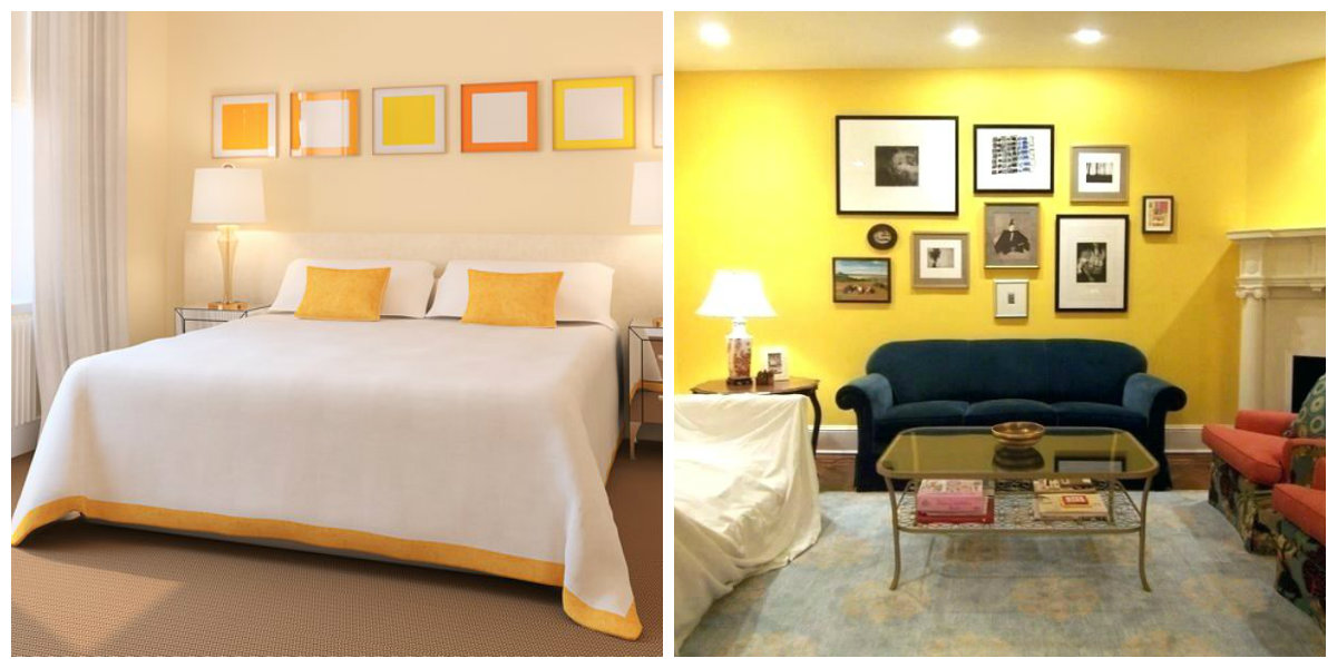 Interior Paint Colors 2019, Peach Color In Interior Paint Colors 2019,  Yellow In Interior