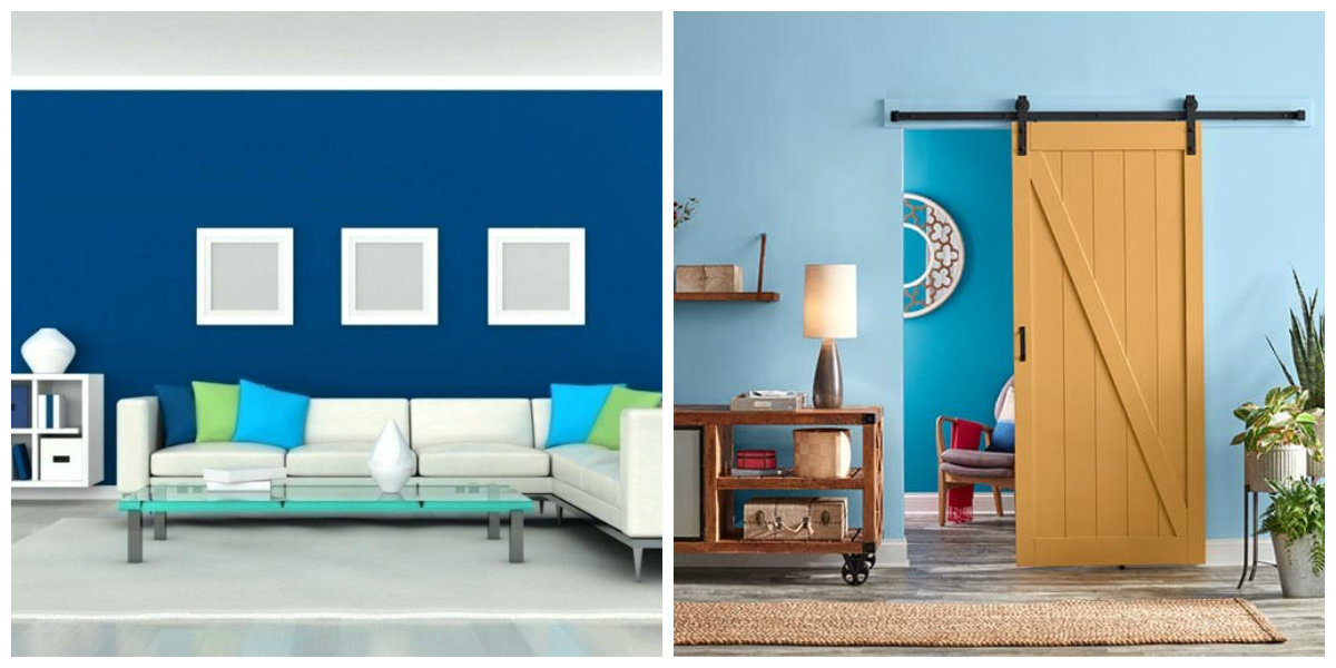 interior paint ideas 2019, blue color in interior paint ideas 2019