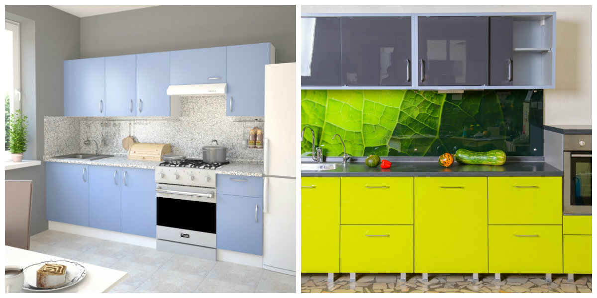 kitchen cabinets ideas 2019, trendy colors for kitchen cabinet design 2019