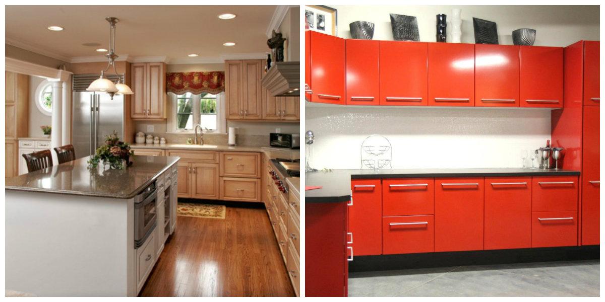 kitchen color schemes 2019, one color kitchen 2019